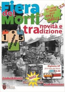 Fiera dei Morti Perugia 2015 Poster