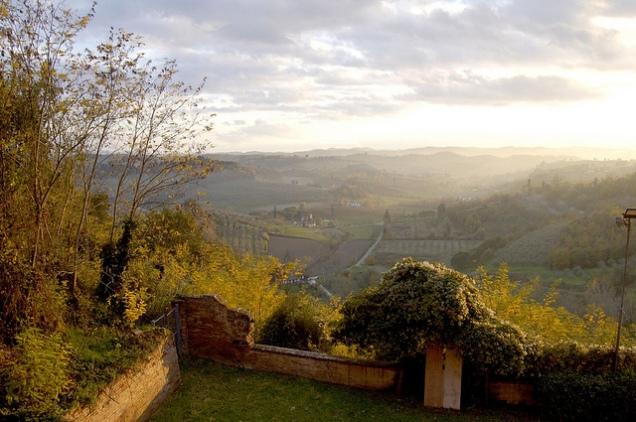 San Miniato Area Landscape