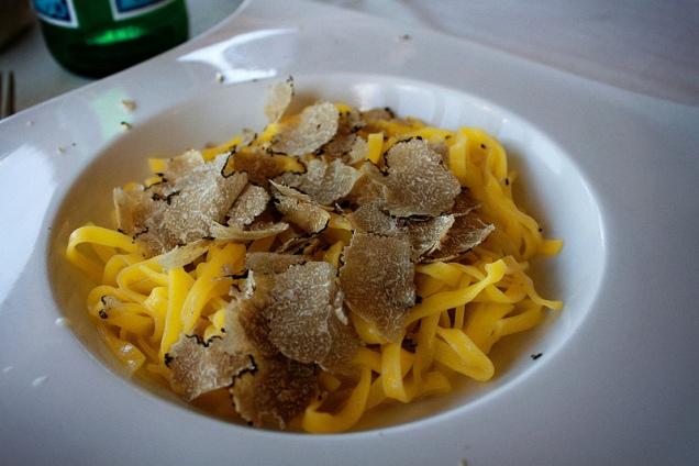 Tagliatelle with Truffles