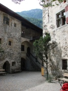 Courtyard at Castle Taufers