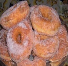 Zeppole in a Donut Shape