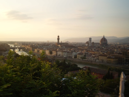 View from Piazzale Michelangelo at Sunset