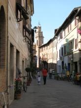 Streetscene in Buonconvento