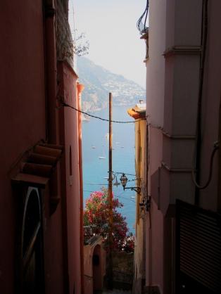 Positano Street View 2