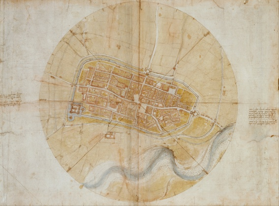leonardo_da_vinci_-_plan_of_imola_-_google_art_project-2