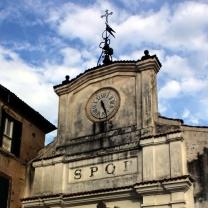 Gate of Prossedi on Piazza Umberto